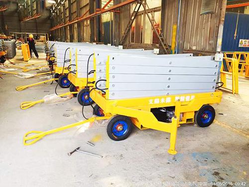 产品型号: 生产厂家:济南金创 应用范围:移动剪叉液压升降机广泛应用图片
